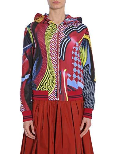 Versace Luxury Fashion Damen A77087A222405A7212 Multicolour Polyester Jacke | Jahreszeit Outlet