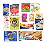 TASTE OF POLAND SWEET BOX - NOT MELTING EDITION, 10 COUNT 2.5 LB DELICIOUS SWEETS, WON'T MELT ON THE H0T SUMMER DAYS DURING DELIVERY KRAKUS, WAWEL, JUTRZENKA, TAGO, MIESZKO , MILANOWEK AND MORE PRODUCTS OF POLAND SHELF LIFE: 3 MONTHS OR LONGER