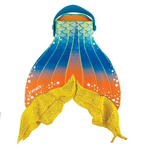 Finis Jungen Mermaid Fin Cover Starfish Schwimmflosse, gelb, Einheitsgröße
