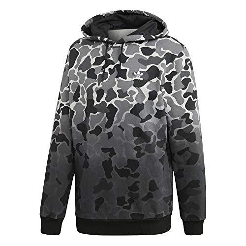 adidas Camo Hoodie Sweatshirt, Hombre, Multicolour, M
