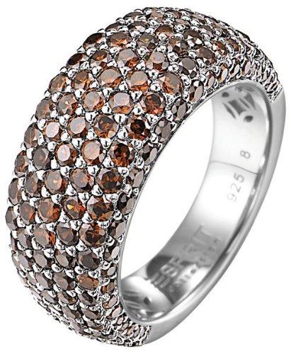 ESPRIT Collection Damen-Ring Amorana Autumn 925 Sterling Silber Gr. 54 (17.2) ELRG91530C170