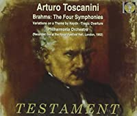 Brahms: The Four Symphonies / Toscanini, Philharmonia Orchestra (2000-03-01)