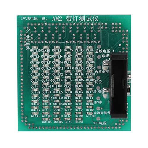 Tarjeta Tester Desktop Motherboard CPU Tester Luz LED para AMD AM2 BGA Motherboard