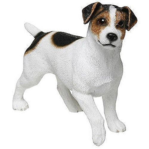 Leonardo Collection Jack Russell Terrier Ornament Hund, Stone, weiß
