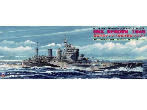 Battlecruiser Renown 1945 Cruiser 1/700 WWII Royal Navy (japan import)