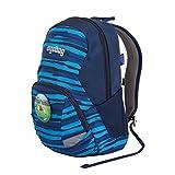 ergobag Ease Large Kids Backpack XS Streifen, Blau