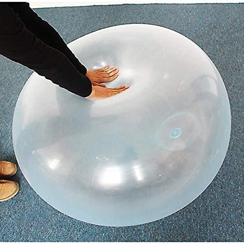 Chengstore Kids Bubble Ball - TPR Transparenter Aufblasbarer Ball Wasserwubble Bubble Ball Weicher Gummiball Für Kinder Party Im Freien Für Den Pool, Strand, Partys, Geschenke Indoor-Aktivitä