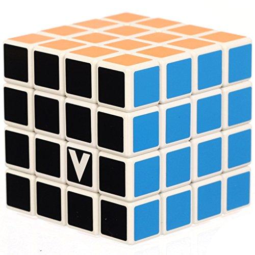 GIGAMIC- V-Cube 4x4 Classic (Plat), VCP4, Blanc