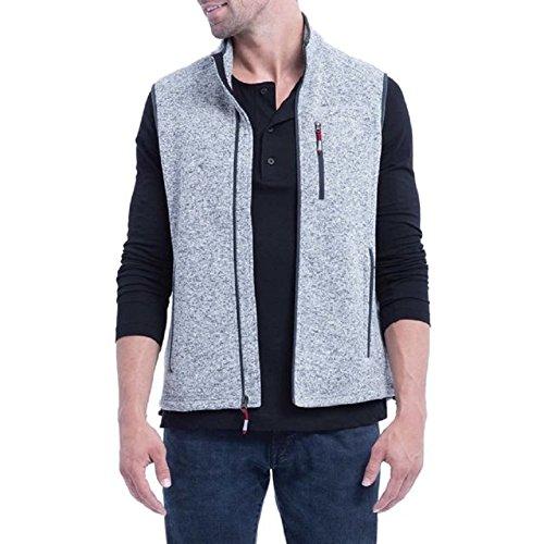 Orvis Mens Sweater Fleece Vest (M, Gray)