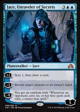 Magic The Gathering - Jace, Unraveler of Secrets (069/297) - Shadows Over Innistrad