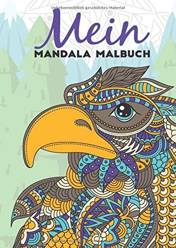 Mein Mandala Malbuch: 50 tierisch tolle Tiermandalas für Kinder ab 8+ Jahren zum Ausmalen und als Kopiervorlage für PädagogInnen. (Tierisch tolle Mandalas, Band 2)