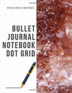 Bullet Journal Notebook Dot Grid: Cheap Composition Journals Books College Ruled To Write In Letter Paper Size 8.5 X 11 Volume 87