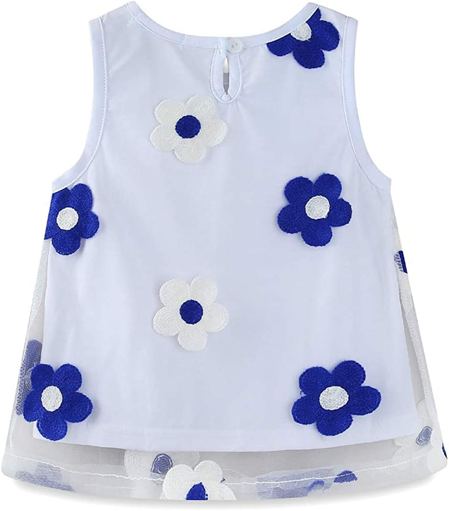 Mud Kingdom Boutique Little Girls Outfits Summer Holiday Sunflower