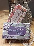 Handseife Lavendel Rose 2er-Set Duft-Seife Blumenduft vegan