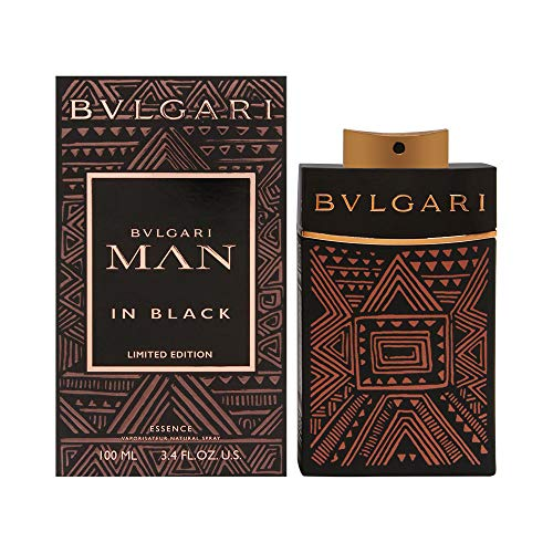 Bulgari Man in Black - Essence Eau de Parfum homme man, 1er Pack (1 x 100 ml)
