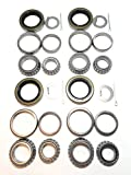 (Set of 4) WPS 3500# Trailer Tandem Axle Bearing Kits L68149 L44649 Grease Seal 10-19 I.D. 1.719'' for #84...
