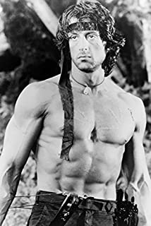 Sylvester Stallone Rambo: First Blood Part Ii Bare Chested Iconic 18x24 Poster