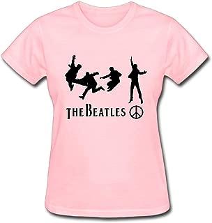 Duanfu The Beatles Women's Cotton Short Sleeve T-Shirt