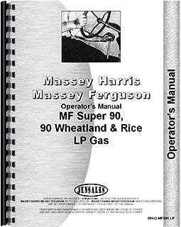 Massey Ferguson Super 90 Tractor Operators Manual
