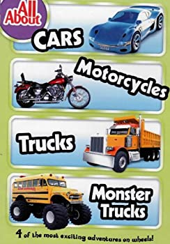 DVD ALL ABOUT ~ CARS / MOTORCYCLES / TRUCKS / MONSTER TRUCKS Book
