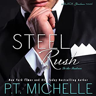 Steel Rush     In the Shadows, Book 5              Written by:                                                                                                                                 P.T. Michelle                               Narrated by:                                                                                                                                 Lance Greenfield,                                                                                        Kirsten Leigh                      Length: 9 hrs and 49 mins     Not rated yet     Overall 0.0