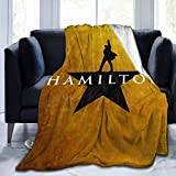 Hamilton Super Soft Microfleece Blanket, Used for Home Decoration, Warmth and Flannel Blanket, Sofa Bed, Air Conditioning Blanket, Suitable for Bed, Sofa, Chair, Camping Bed 50' X40