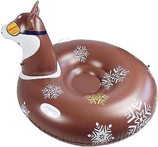 Sneeuwbuis, Heavy Duty Opblaasbare Winter Sneeuw Slede Ringen Met Handvatten, Skiën Cirkel Voor Kinderen Volwassenen, Wint...
