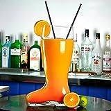 bar@drinkstuff Bierglas, in Stiefelform, sehr groß, circa 2,8l - 5