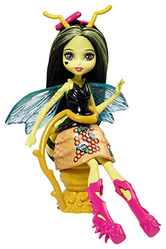 Monster High Mattel FCV49 - Garten-Monsterfreundinnen Insekt Beetrice - Eine Biene, Puppe