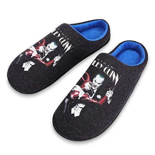 51MarFIZ9SL Harley Quinn Slippers