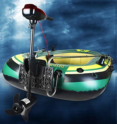 bester Test von schlauchboote mit motor Außenbordmotor + Heck + Schlauchboot mit Paddel, Pumpeneinheit für 2 Personen, komplettes Set