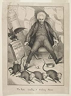 Photo: Rats Leaving a Falling House,1831,John Quincy Adams,John Branch,Peggy Eaton