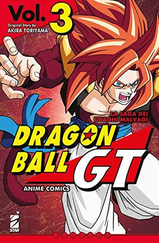 La saga dei draghi malvagi. Dragon Ball GT. Anime comics (Vol. 3)