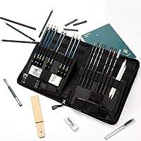 FUNSTAR 40-Pieces Professional Sketching Pencils Set