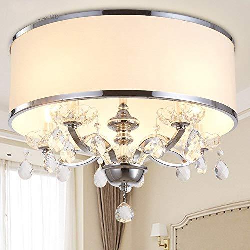 DEJ Crystal Chandelier K9 Crystal 110~240V kroonluchter voor woonkamer of slaapkamer verlichting plafondlampen 60 cm