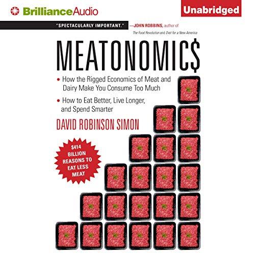 Meatonomics audiobook cover art