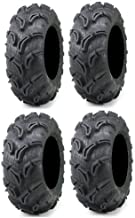 Full set of Maxxis Zilla 26x9-12 and 26x11-12 ATV Mud Tires (4)