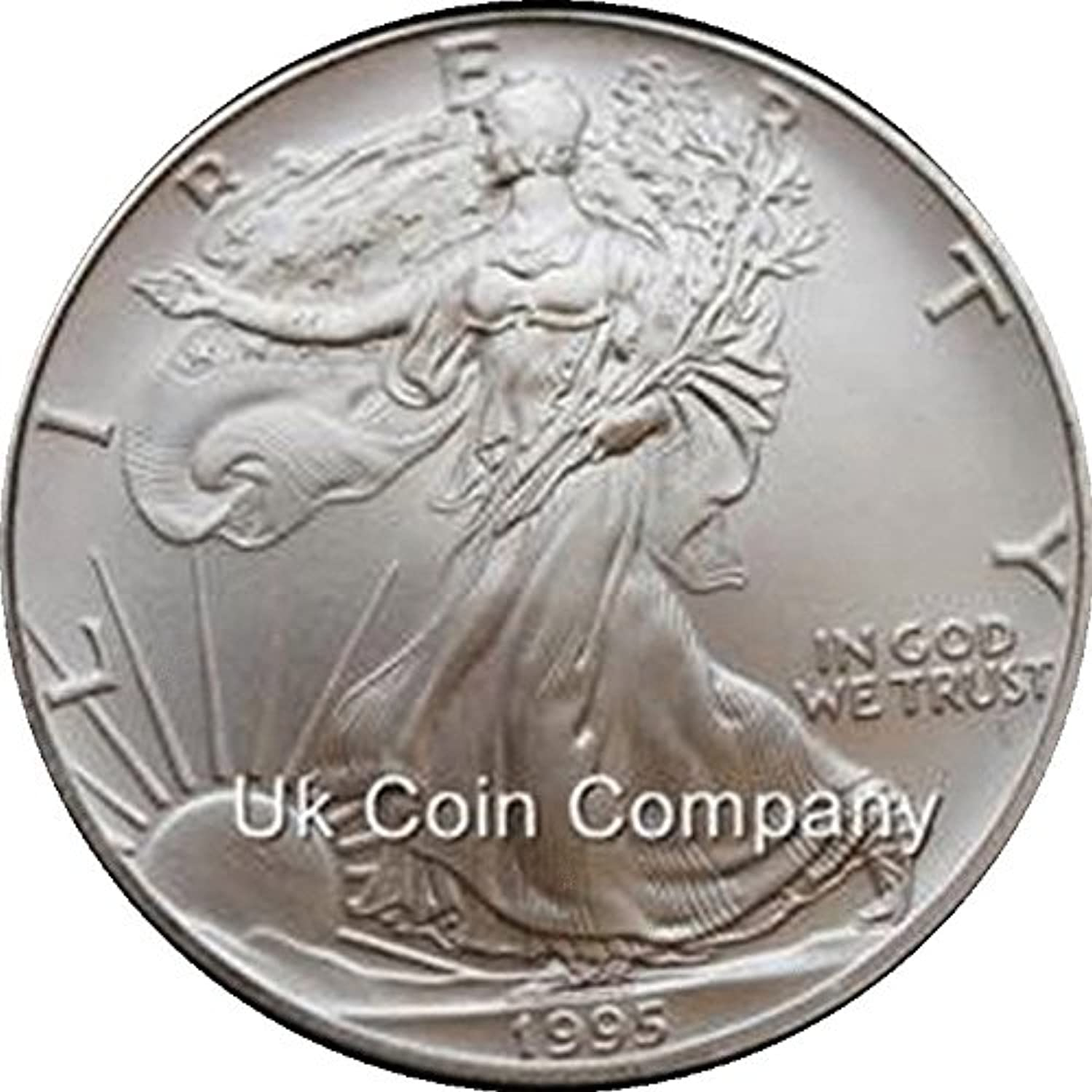 1995 Usa 1 oz Silver Liberty Eagle One Dollar Coin Low Mintage