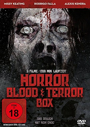 Horror Blood and Terror Box [Alemania] [DVD]