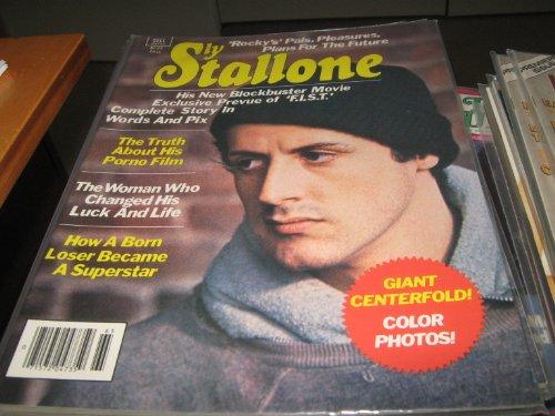 Sly Stallone Magazine (Rocky , F.I.S.T. , Porno Film , Giant Centerfold , Color Photos, Fall 1977)