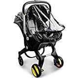 Car Seat Rain Cover,Food Grade EVA,Universal Baby Stroller Accessory for Doona Infant Car Seat Stroller,Waterproof, Windproof Protection,Protect from Dust Snow