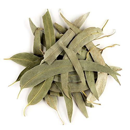 Eukalyptus Loseblatt Tee biologischem Anbau – sanft und beruhigend für den Rachen – Eukalyptuskraut Tee Bio 50g