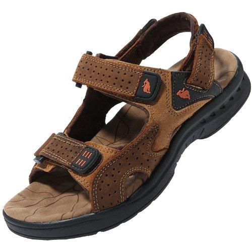 Dayiss Herren Jungen Leder Sandalen Sport- & Outdoor Schuhe Sandaletten