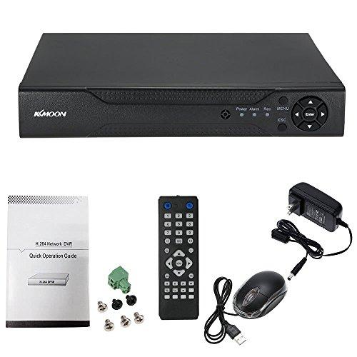 4 canales 1280 * 720P CCTV Network DVR H.264 HD Sistema de seguridad para el hogar Alarma Correo electrónico