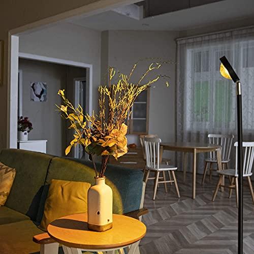Solnedgång projektion LED-lampa, stående modern atmosfär golvlampa för sovrum kafé bar dekoration romantisk gåva