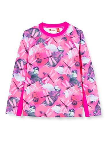 Lego Wear Mädchen Lwtone Uv Schwimmshirt Lsf 50 Plus Badeanzug, Rosa (Dark Pink 474), (Herstellergröße: 146)