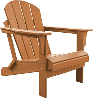 Panama Jack PJO-4001-ORNG Adirondack Chair, Orange