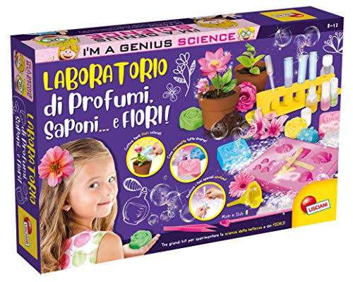 Lisciani Giochi I'm A Genius 62317-I'm Laboratorio di Profumi, Cosmetica e Fiori, 62317