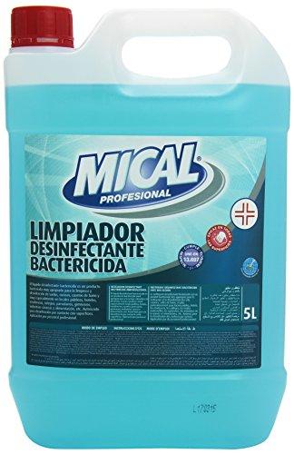 Mical Profesional - Limpiador Desinfectante Bactericida - Eficaz en todas las superficies - 5 l