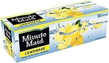 Minute Maid Lemonade Made w/ Real Lemons, 12 fl oz, 12 Pack